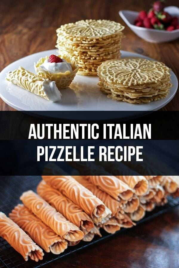 Authentic Italian Pizzelle Recipe – Ferratelle Abruzzesi