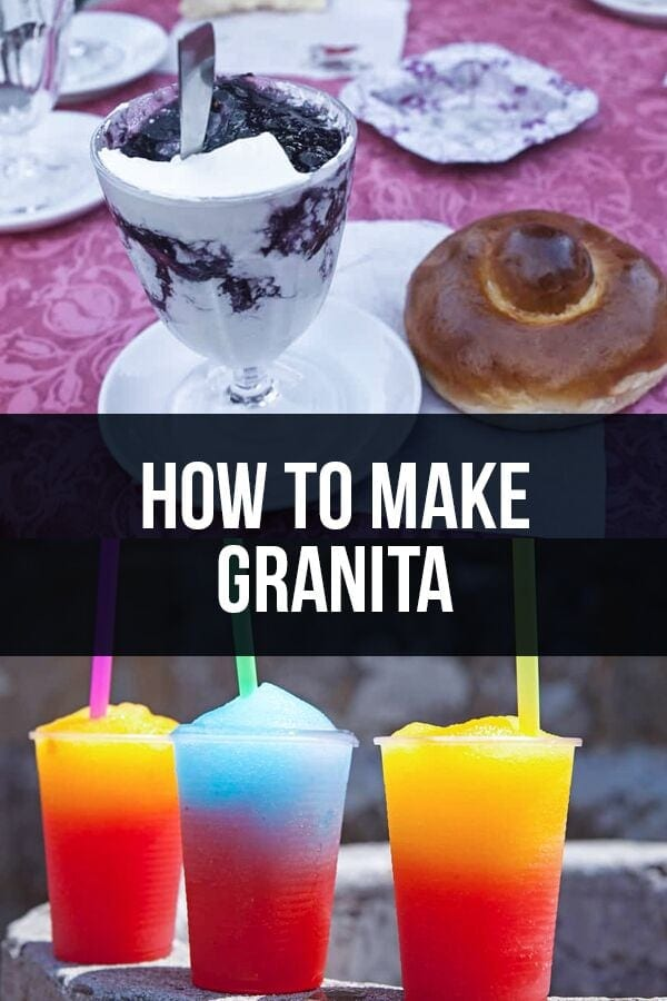 How to Make Granita – The Hidden Italian Secret to…