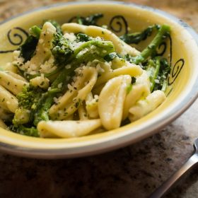 Sauteed cavatelli and broccoli is easy to make and perfect for vegetarians.